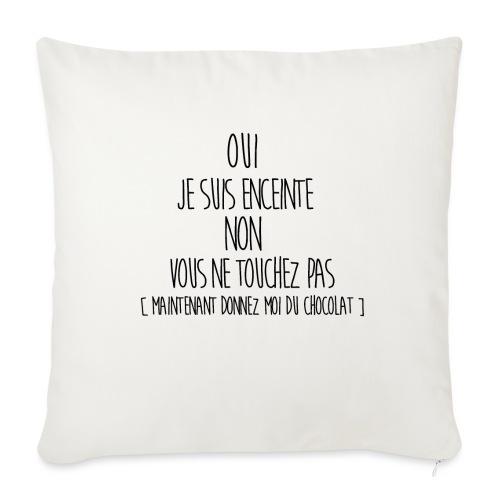 T-Shirt-Femme-Enceinte-2 - Coussin et housse de 45 x 45 cm