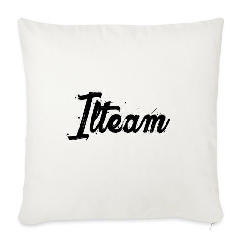 Ilteam Black and White - Coussin et housse de 45 x 45 cm