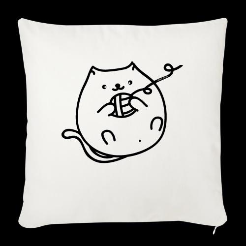 classic fat cat - Sofakissen mit Füllung 44 x 44 cm