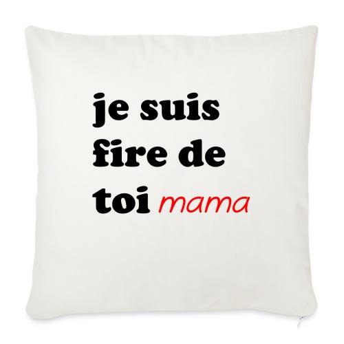 je suis fier de toi mama - Sofa pillow with filling 45cm x 45cm