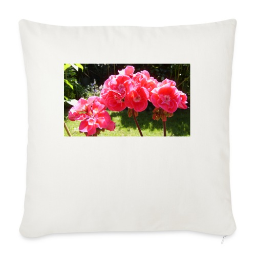 floral - Sofa pillow with filling 45cm x 45cm