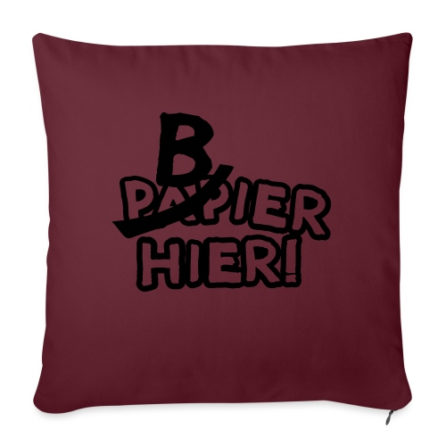 bbb_bierhier - Sofa pillow with filling 45cm x 45cm