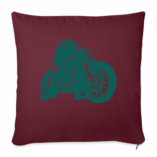 born to ride - Sofa pillow with filling 45cm x 45cm