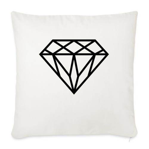 Diamond Graphic // Diamant Grafik - Sofakissen mit Füllung 44 x 44 cm