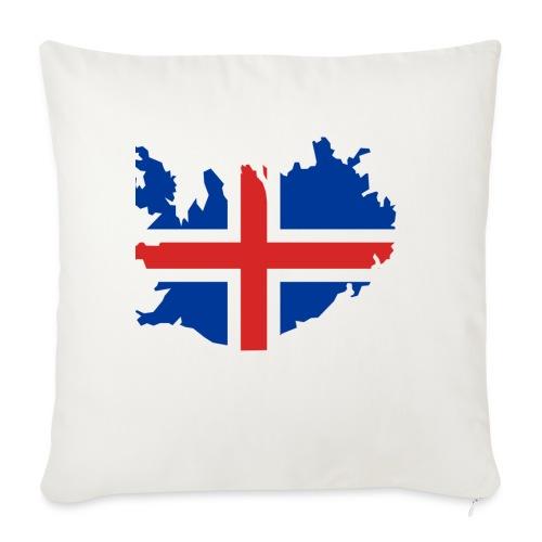 Iceland - Bankkussen met vulling 44 x 44 cm