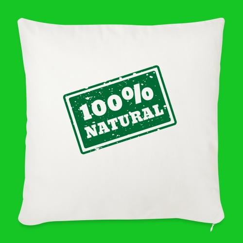 100% natural PNG - Bankkussen met vulling 44 x 44 cm