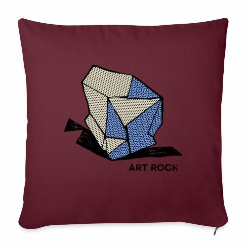 ART ROCK No 1 colour - Bankkussen met vulling 44 x 44 cm