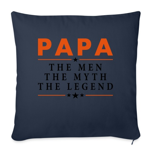 PAPA THE LEGEND - Sofa pillow with filling 45cm x 45cm