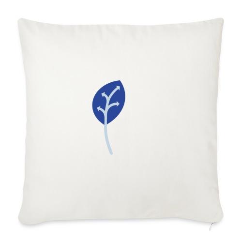 Adveris blu - Cuscino da divano 44 x 44 cm con riempimento