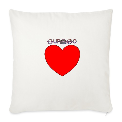 Cupido rompe corazones - Cojín de sofá con relleno 44 x 44 cm