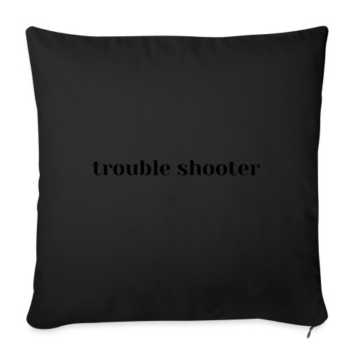 trouble shooter, conflict, bad guy,not conflicting - Sofa pillow with filling 45cm x 45cm