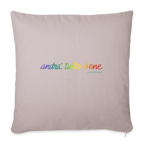 andràtuttobene - Cuscino da divano 44 x 44 cm con riempimento