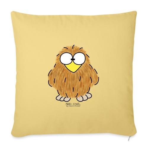 Niki Owl - Sofa pillow with filling 45cm x 45cm