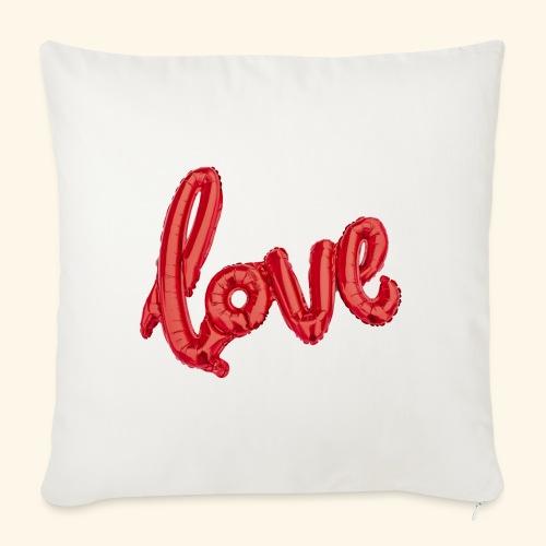 Love Balloons - Ballon love - St Valentin - Coussin et housse de 45 x 45 cm