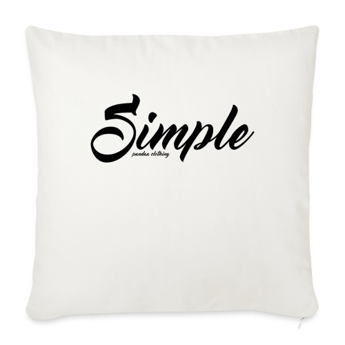Simple: Clothing Design - Sofa pillow with filling 45cm x 45cm