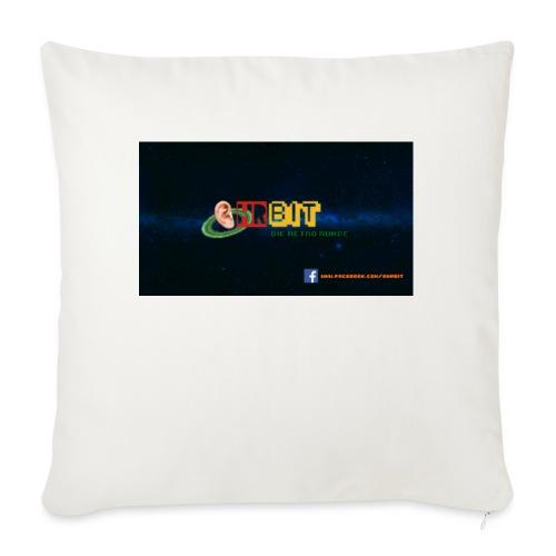 OhrBit Logo - Sofakissen mit Füllung 44 x 44 cm