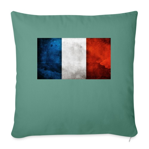 France Flag - Sofa pillow with filling 45cm x 45cm