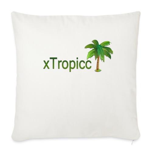 tropicc - Coussin et housse de 45 x 45 cm