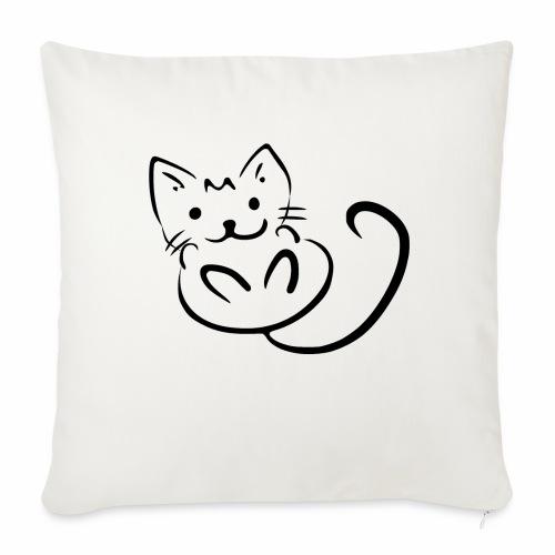 Kitten - Cuscino da divano 44 x 44 cm con riempimento