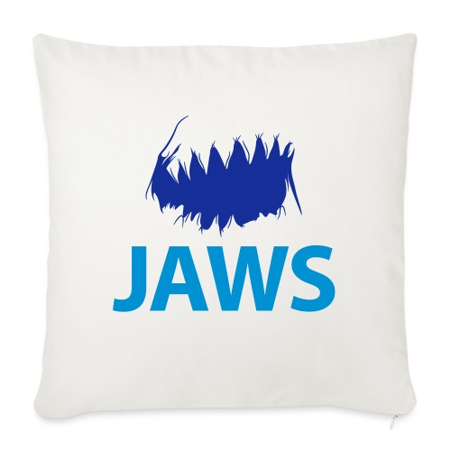 Jaws Dangerous T-Shirt - Sofa pillow with filling 45cm x 45cm
