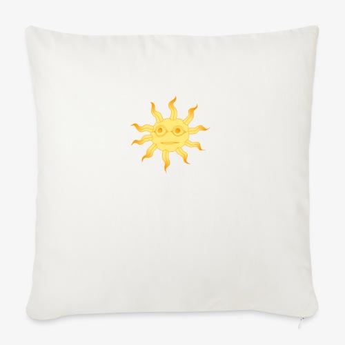 soleil - Coussin et housse de 45 x 45 cm