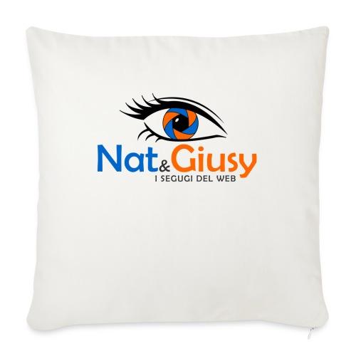 Nat e Giusy - Cuscino da divano 44 x 44 cm con riempimento