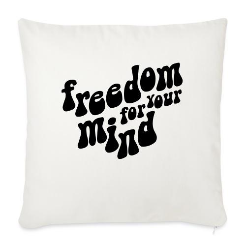 freedom - Coussin et housse de 45 x 45 cm