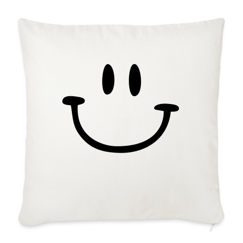 ptb smiley face - Sofa pillow with filling 45cm x 45cm