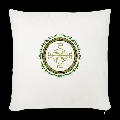 Norse Runes with Aegishjalmur 2017 - Sofa pillow with filling 45cm x 45cm