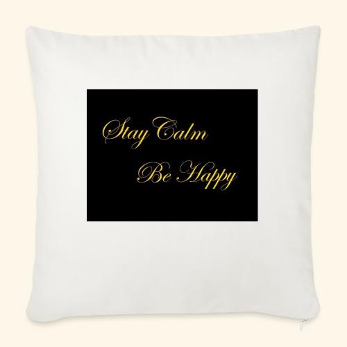 Be Happy - Coussin et housse de 45 x 45 cm