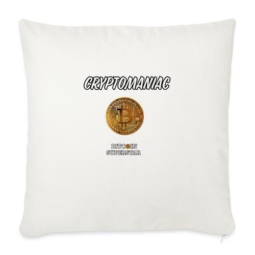 Cryptomaniac - Cuscino da divano 44 x 44 cm con riempimento
