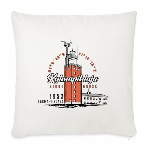 Finnish Lighthouse KYLMÄPIHLAJA Textiles, and Gift - Sohvatyynyt täytteellä 44 x 44 cm
