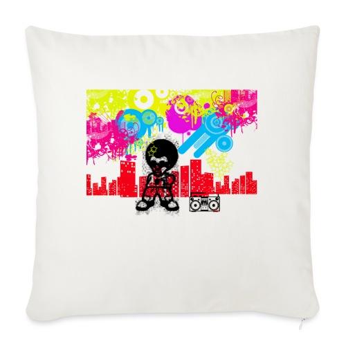 Magliette personalizzate bambini Dancefloor - Cuscino da divano 44 x 44 cm con riempimento