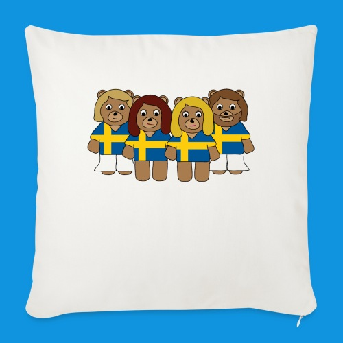 Abba Sweden Bears.png - Sofa pillow with filling 45cm x 45cm