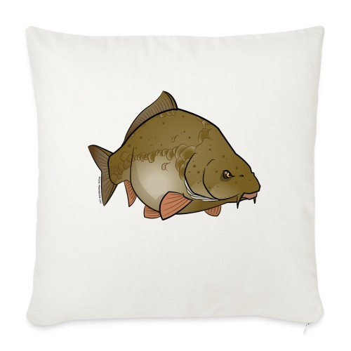 Red River: Carp - Sofa pillow with filling 45cm x 45cm