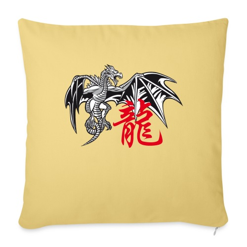THE YEAR OF THE DRAGON ( - Sofa pillow with filling 45cm x 45cm