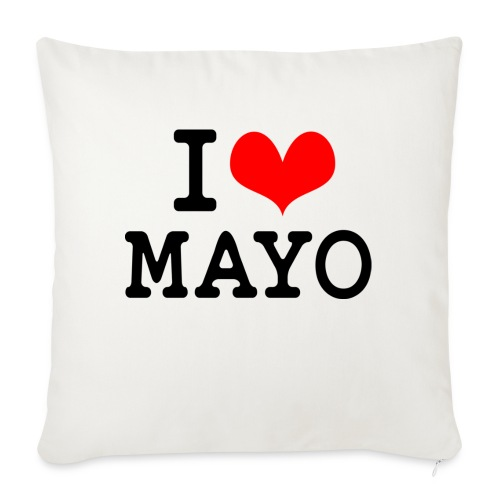 I Love Mayo - Sofa pillow with filling 45cm x 45cm