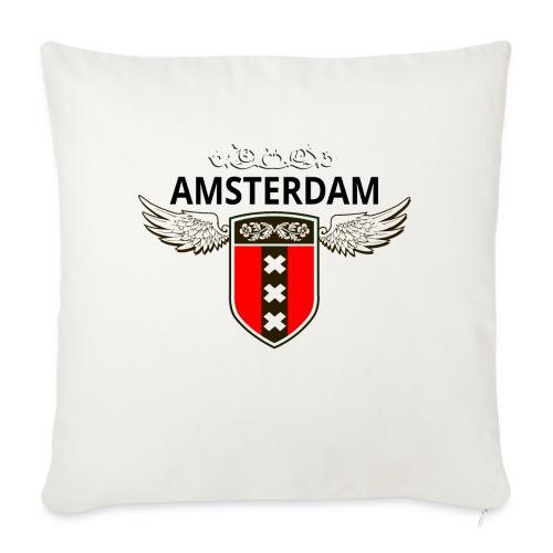 Amsterdam Netherlands - Sofakissen mit Füllung 44 x 44 cm