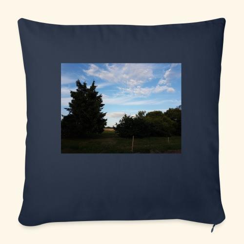 Feld mit schönem Sommerhimmel - Sofakissen mit Füllung 44 x 44 cm