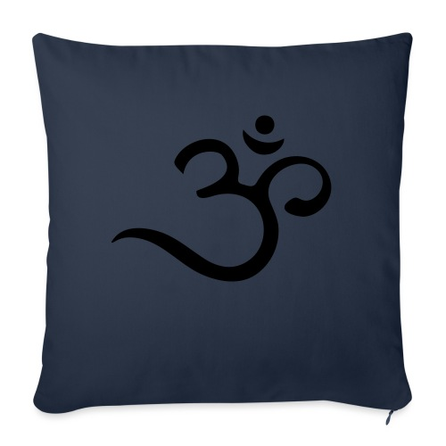 Om Mantra Symbol Yoga - Sofakissen mit Füllung 44 x 44 cm