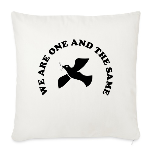 We are one and the same - Sofa pillow with filling 45cm x 45cm