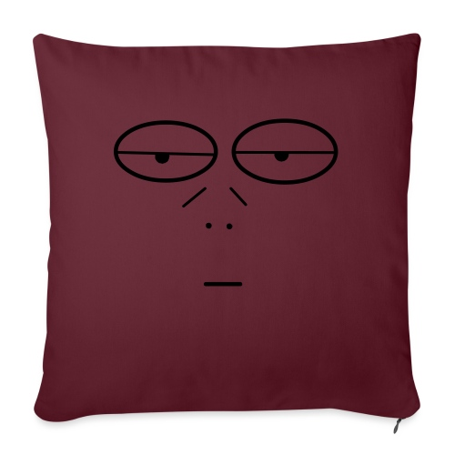 Volto Lenzuolo - Cuscino da divano 44 x 44 cm con riempimento