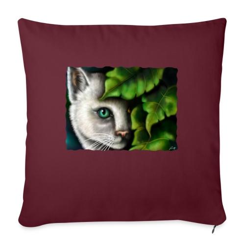 Gatto Shiva - Cuscino da divano 44 x 44 cm con riempimento