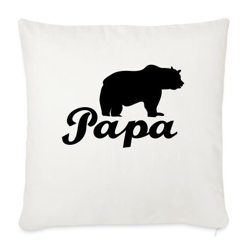 papa beer - Bankkussen met vulling 44 x 44 cm