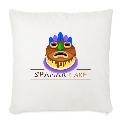 Shaman Cake Official - Cuscino da divano 44 x 44 cm con riempimento
