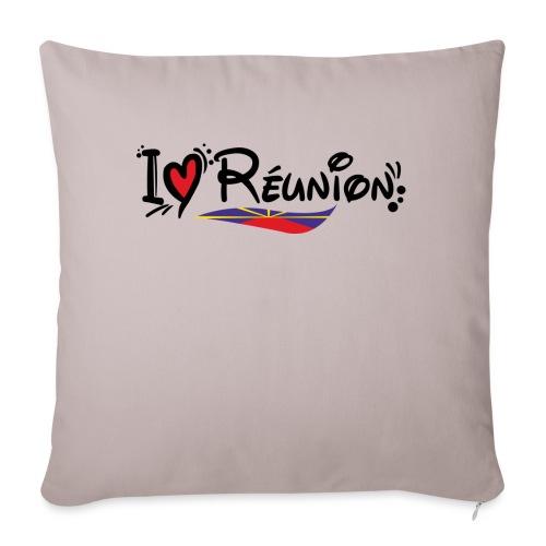 i love Réunion - MAHAVELI - Coussin et housse de 45 x 45 cm