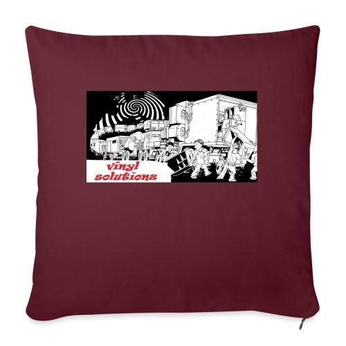 vinyl solutionz - Sofa pillow with filling 45cm x 45cm