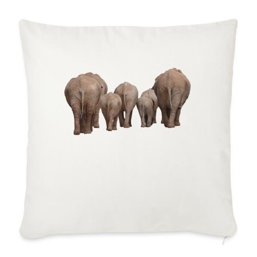 elephant 1049840 - Cuscino da divano 44 x 44 cm con riempimento
