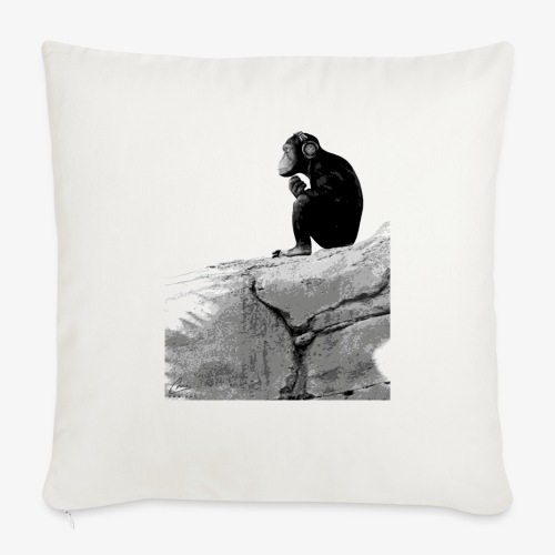 Music Monkey - Sofa pillow with filling 45cm x 45cm