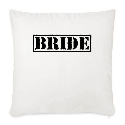 Bride - Sofa pillow with filling 45cm x 45cm
